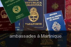 Ambassades à Martinique