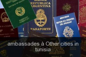 Ambassades à Other cities in tunisia